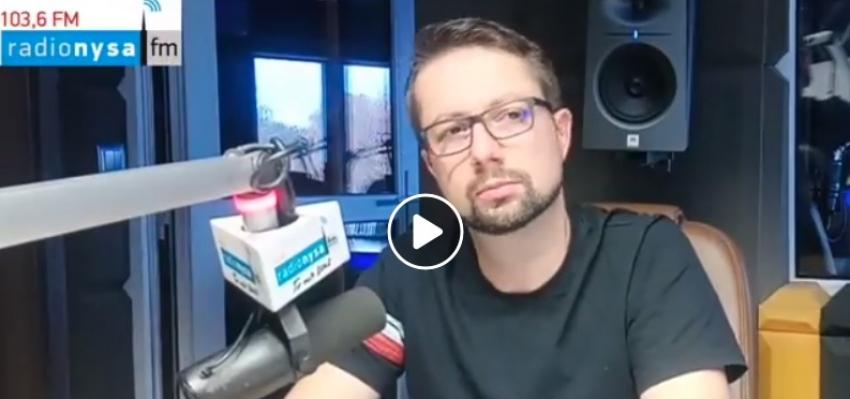 02.06.2020 - Gościem Dnia Radia Nysa był Łukasz Bogdanowski