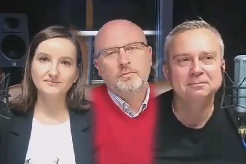 26.09.2020 - Gośćmi Śniadania w Radiu Nysa byli Maria Żukowska-Jacykowska, Paweł Szymkowicz oraz Piotr Woźniak