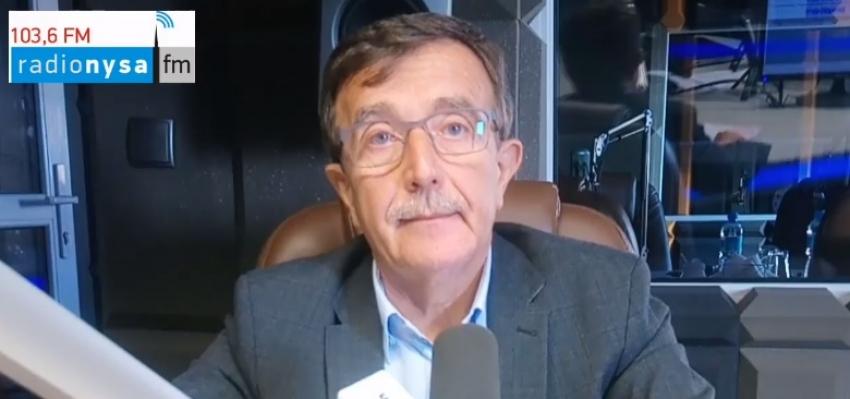 12.09.2019 - Gość Dnia Radia Nysa Krzysztof Leśniewski