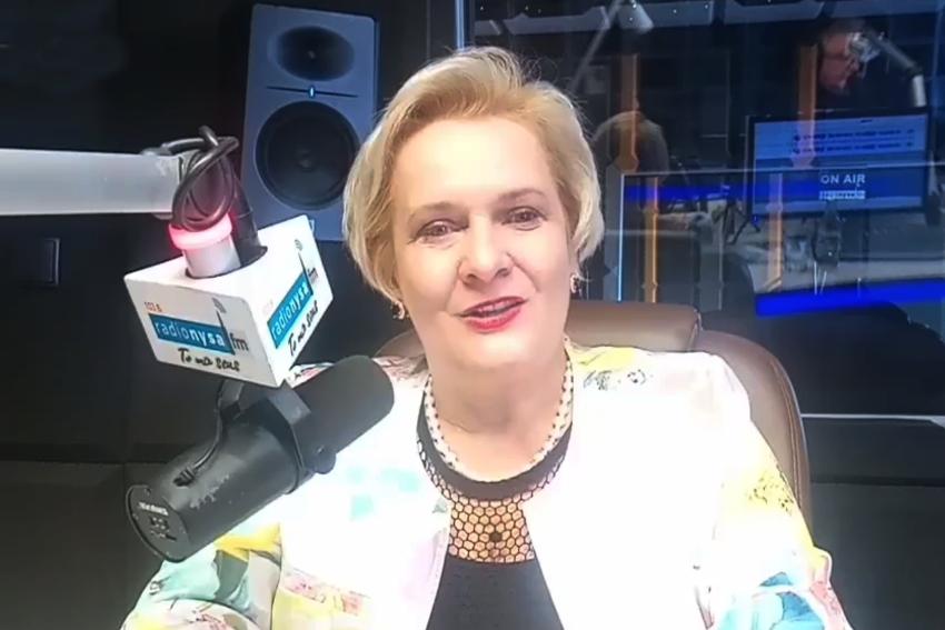 18.03.2021 - Gościem Dnia Radia była Teresa Barańska