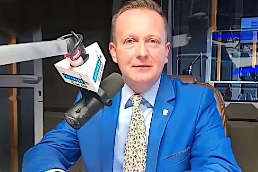 29.04.2021 - Gościem Dnia Radia Nysa był Damian Nowakowski