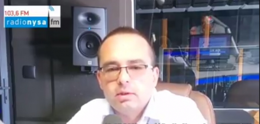 04.09.2019 - Gość Dnia Radia Nysa Artur Kamiński