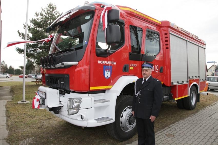 Gmina Korfantów inwestuje w strażaków