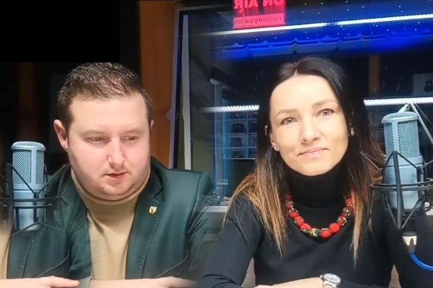 17.12.2020 - Goście Radia Nysa: Agnieszka Woszczyńska i Adam Raczyński