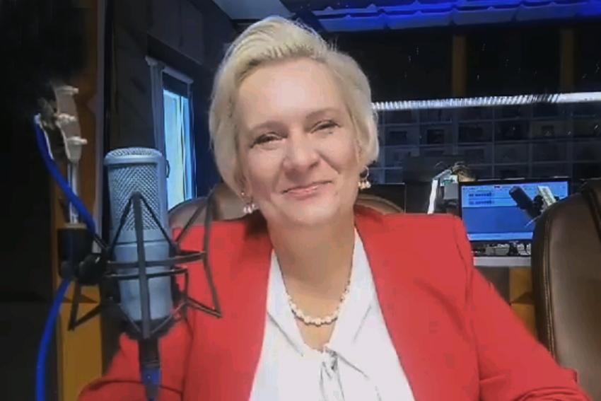 02.10.2020 - Gościem Dnia Radia Nysa była Teresa Barańska