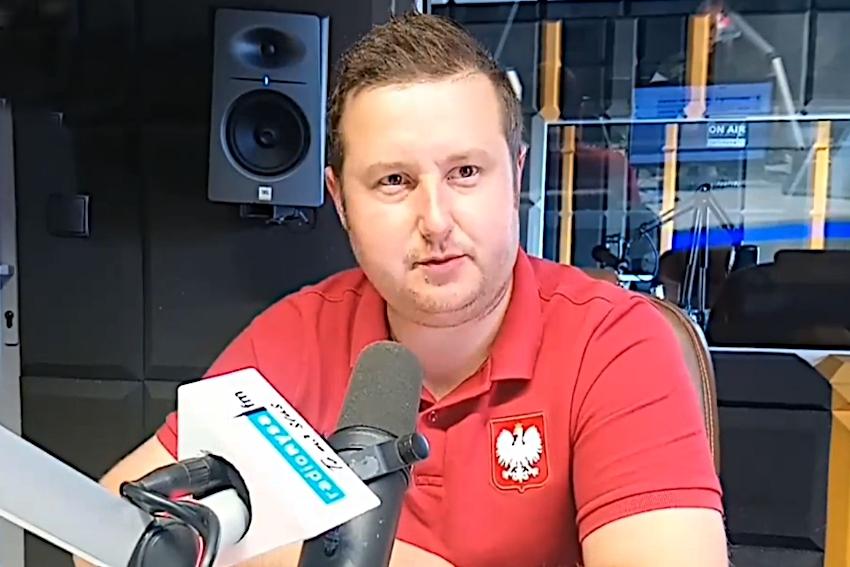 08.06.2021 - Gościem Dnia Radia Nysa był Adam Raczyński