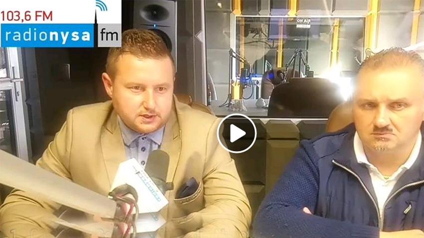 12.06.2020 - Gośćmi Dnia Radia Nysa byli Adam Raczyński i Daniel Palimąka