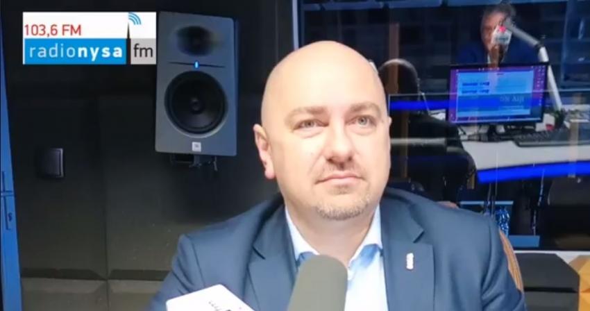 10.09.2019 - Gość Dnia Radia Nysa Grzegorz Zawiślak