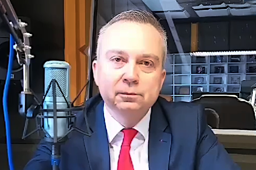 25.02.2021 - Gościem Dnia Radia Nysa był Piotr Woźniak