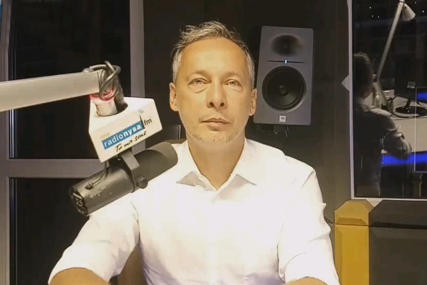 23.09.2020 - Gościem Dnia Radia Nysa był Piotr Wach,