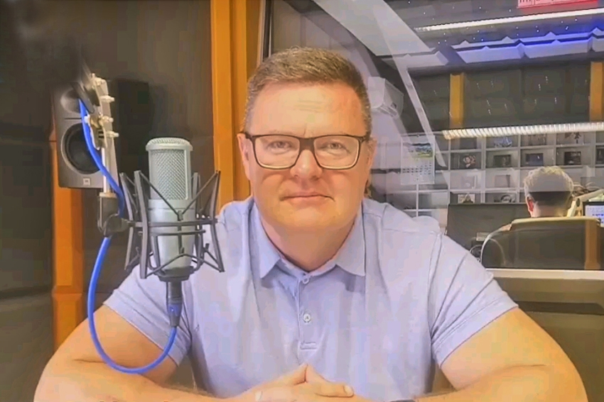 16.09.2020 - Gościem Dnia Radia Nysa był Bogdan Wyczałkowski