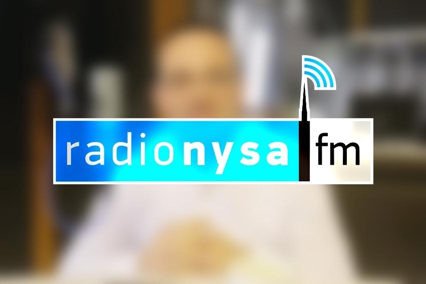 04.10.2021 - Gościem Dnia Radia Nysa był Sebastian Świderski