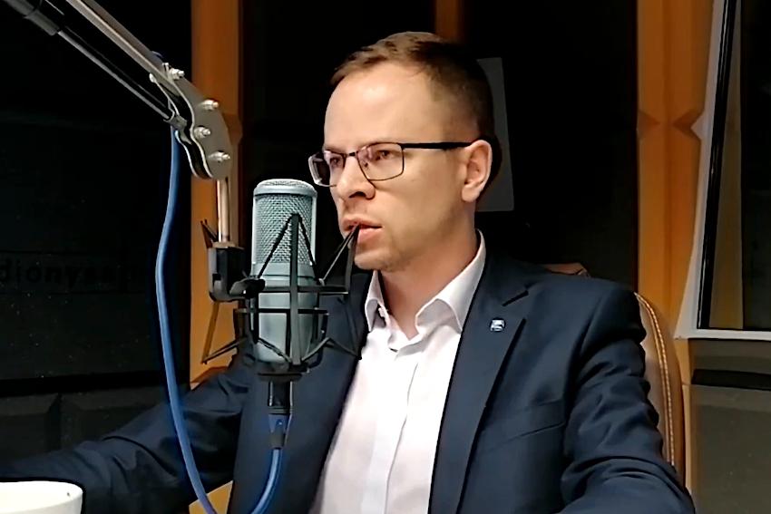 13.09.2021 - Naszym Gościem Dnia był Wojciech Komarzyński