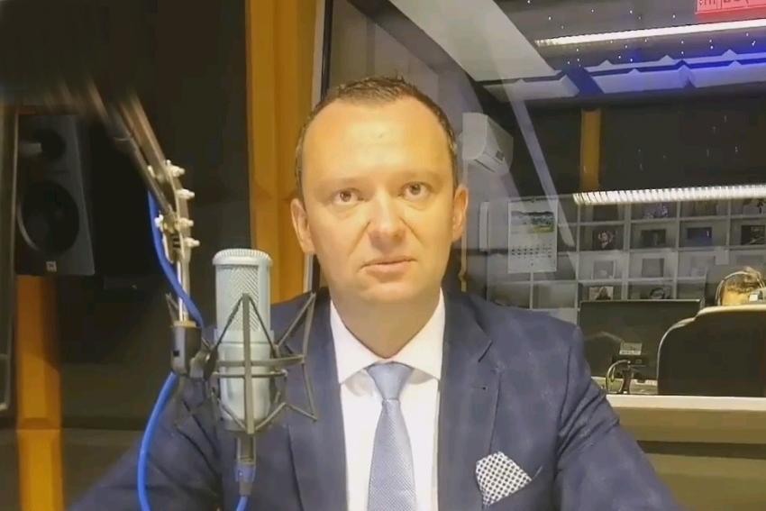27.08.2021 - Gościem Dnia Radia Nysa był Artur Rolka