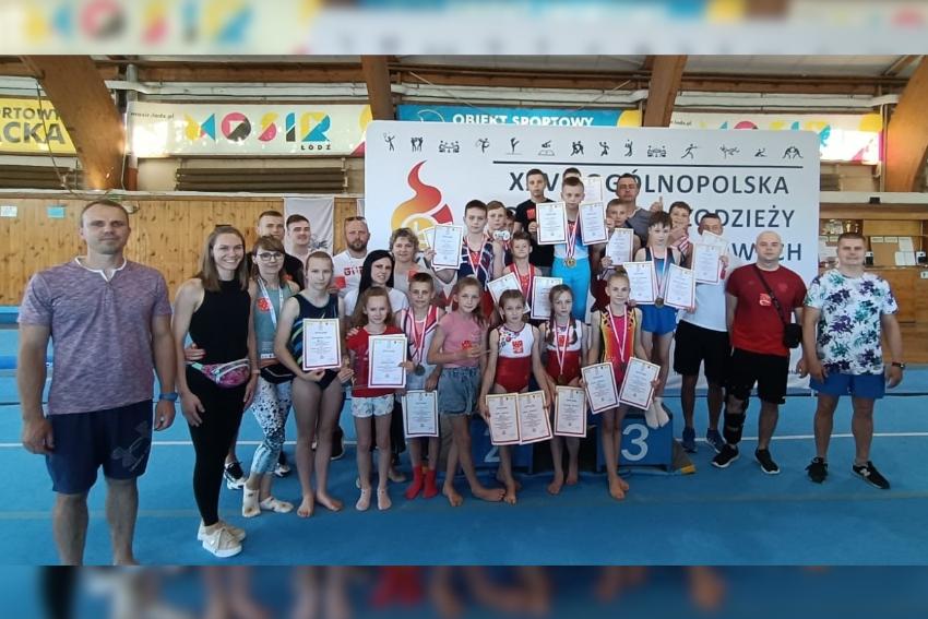 11 medali dla Nyskiego Towarzystwa Gimnastycznego!
