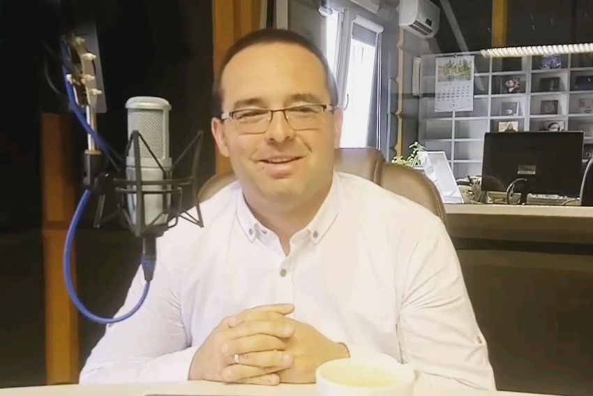 17.06.2021 - Gościem Dnia Radia Nysa był Artur Kamiński