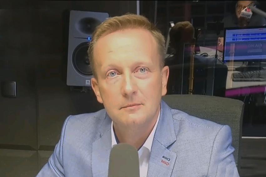 09.12.2020 - Gościem Dnia Radia Nysa był Damian Nowakowski