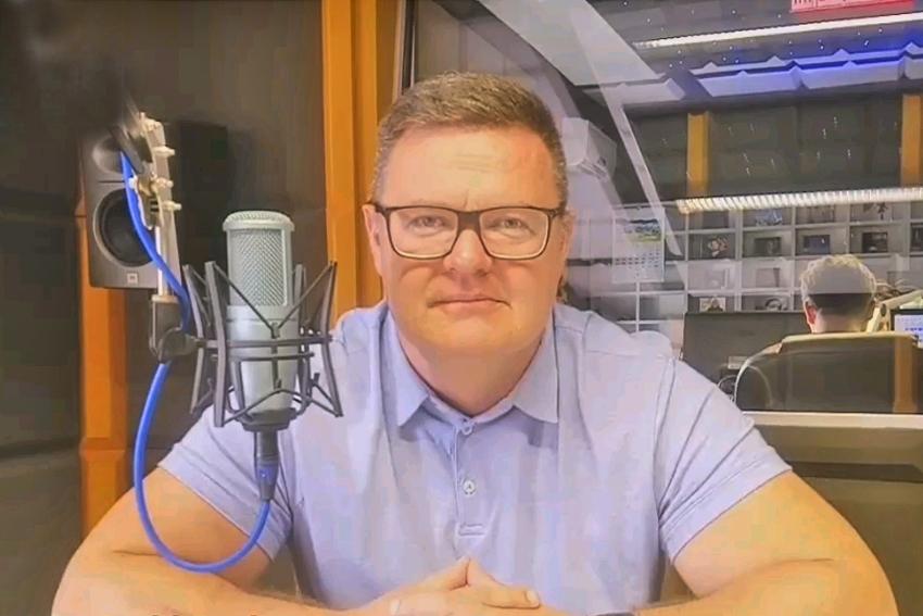19.10.2020 - Gościem Dnia Radia Nysa był Bogdan Wyczałkowski