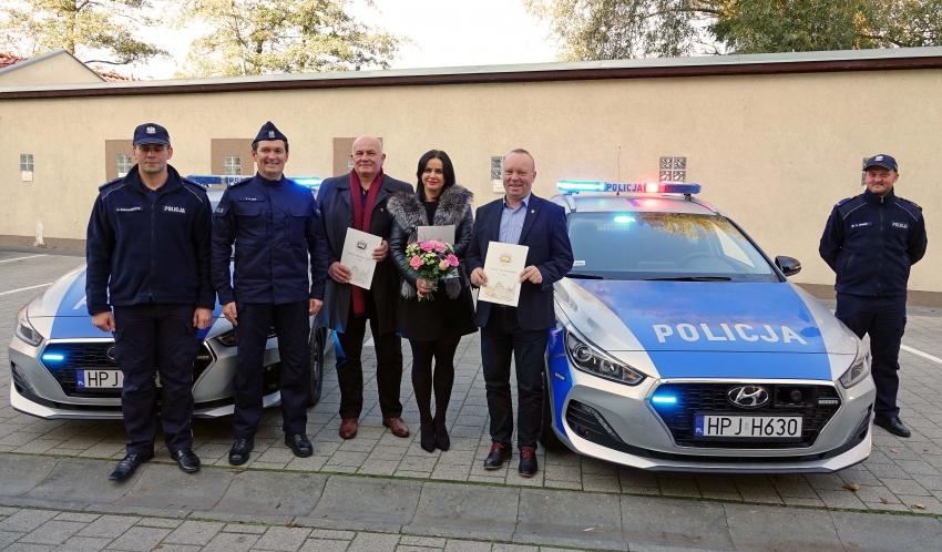 Nowe radiowozy dla Komendy Powiatowej Policji w Nysie