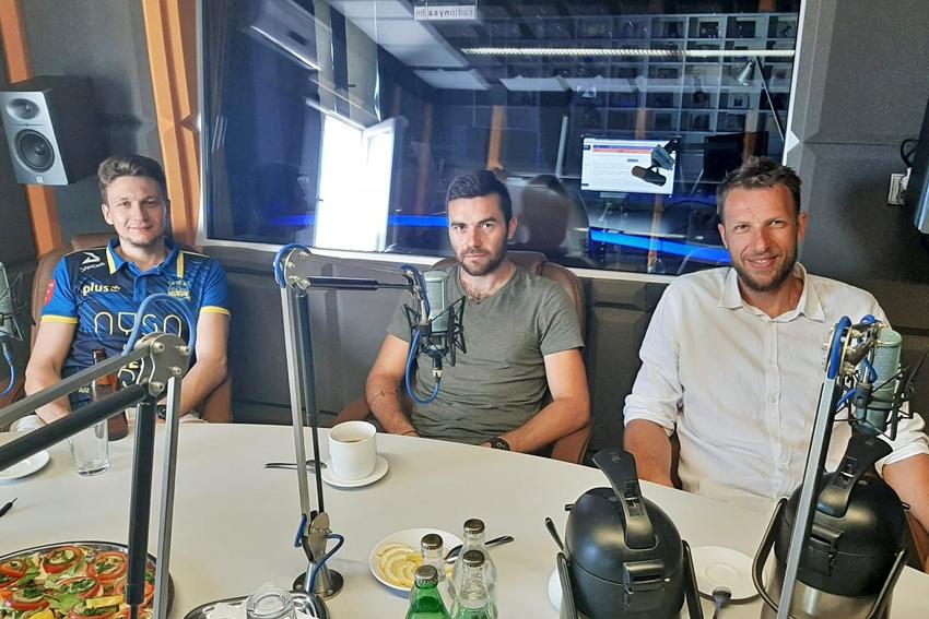 25.07.2020 - Gośćmi Śniadania w Radiu Nysa byli - Maciej Zajder, Piotr Kowalczyk i Michał Ignerski