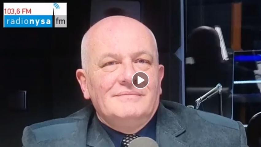 10.06.2020 - Gościem Dnia Radia Nysa był Andrzej Kruczkiewicz