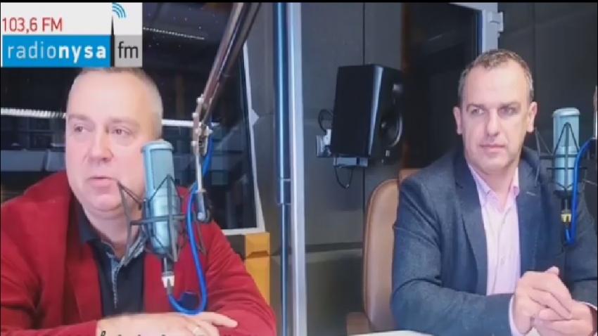 30.05.2020 - Gośćmi Śniadania w Radiu Nysa byli Daniel Palimąka, Piotr Woźniak i Paweł Nakonieczny