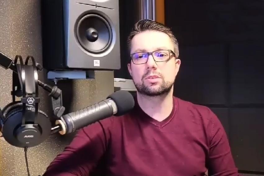 03.03.2021 - Gościem Dnia Radia Nysa był Łukasz Bogdanowski