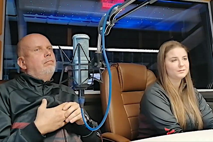 20.09.2021 - Gośćmi Dnia Radia Nysa byli Natalia Drożdżyńska oraz Jarosław Drożdżyński