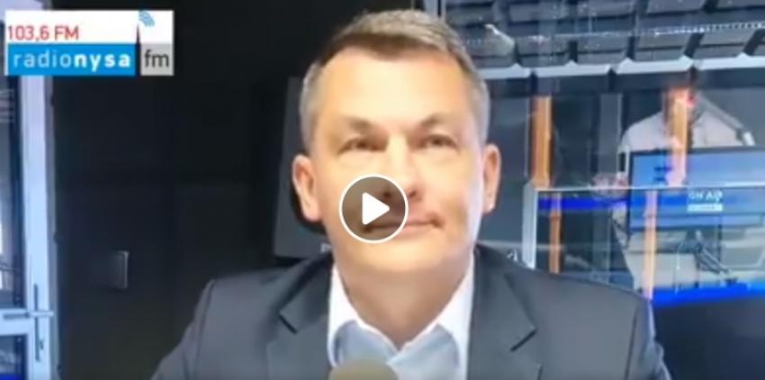 09.09.2019 - Gość Dnia Radia Nysa Tomasz Kostuś