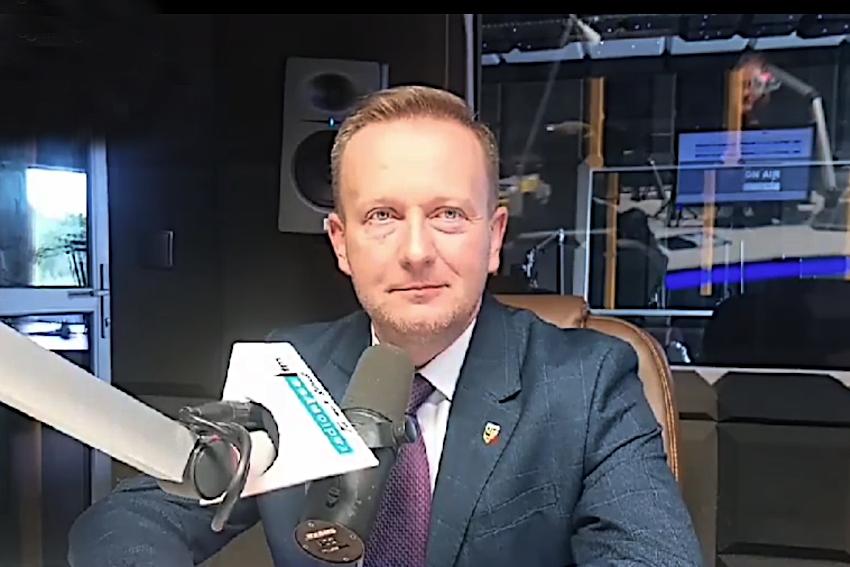 30.06.2021 - Gościem Dnia Radia Nysa był Damian Nowakowski