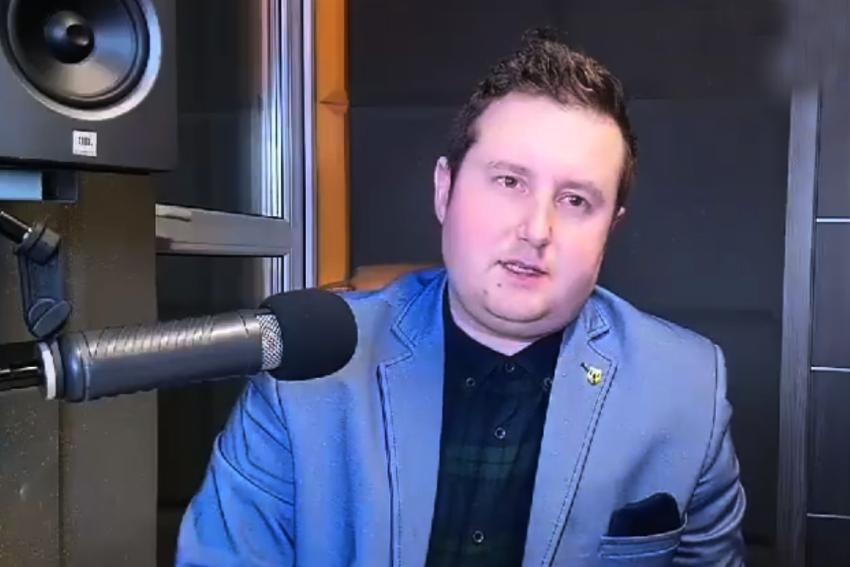 21.04.2021 - Gościem Dnia Radia Nysa był Adam Raczyński