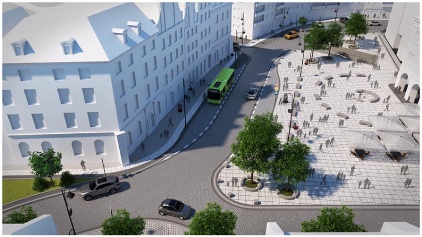 Sprawdzamy postęp prac remontowych nyskiego śródmieścia