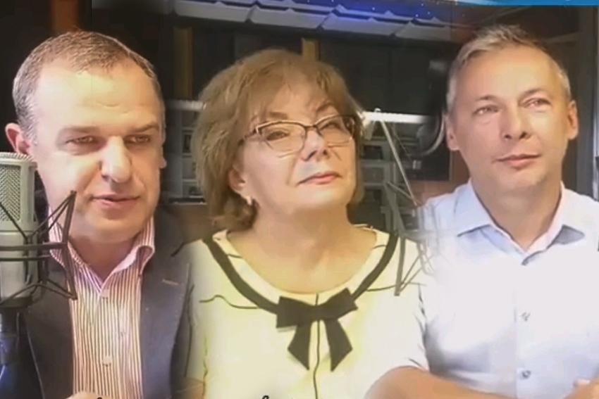 05.09.2020 - Gośćmi Śniadania w Radiu Nysa byli: Paweł Nakonieczny, Danuta Korzeniowska oraz Piotr Wach