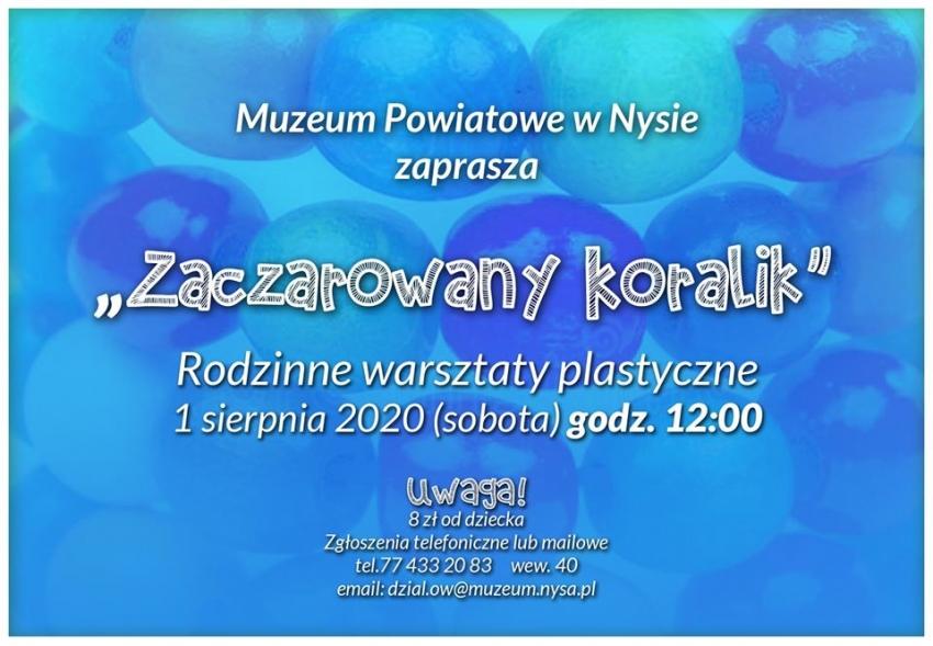 Muzeum Powiatowe zaprasza na rodzinne warsztaty