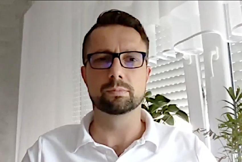 23.08.2021 - Gościem Dnia Radia Nysa był Łukasz Bogdanowski