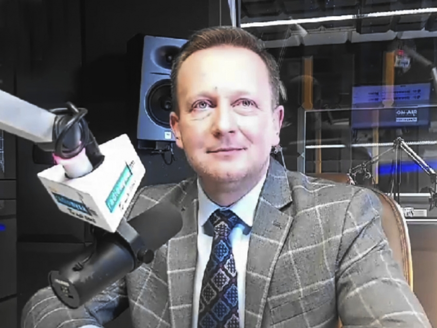 31.03.2021 - Gościem Dnia Radia Nysa był Damian Nowakowski
