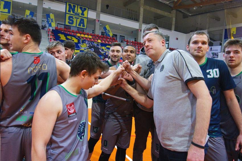 Basket Nysa w bitwie o awans
